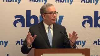 NYC Comptroller Scott Stringer Lays Out a Vision and Priorities for 2015 at A Better New York