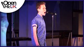 THE CLIMB - JOE MCELDERRY performed by DANIEL MOONEY at Open Mic UK singing competition