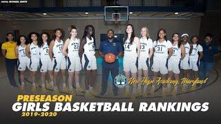 MaxPreps Preseason Top 25 High School Girls Basketball Rankings