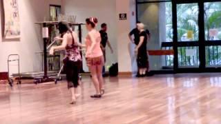 Blue Finger Lou Line Dance choreo'd by Max Perry & A T Kinson (Dance)
