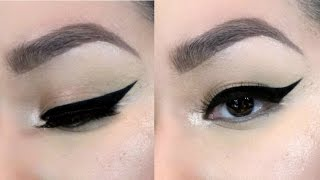 How To Apply Wingled Liner Like A Pro |2016| Glammed_by_Mita