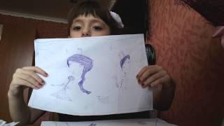 Рисунки Монстер хай шариковой ручкой
