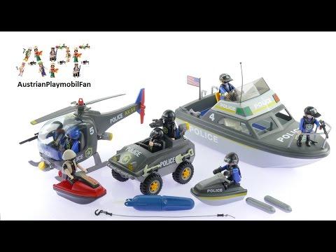 Vidéo PLAYMOBIL City Action 9043 : SWAT Véhicules des Forces Spéciales de Police