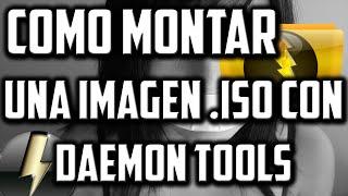 Como Montar Una Imagen .iso Con Daemon Tools │ Sin Errores