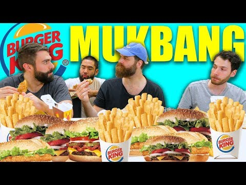 Burger King Mukbang – A La Carte