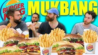 Burger King Mukbang – A La Carte