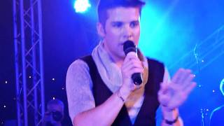 Joe McElderry at Hardwick Hall - Fahrenheit