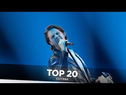 Estonia in Eurovision - My Top 20 (2000-2019)
