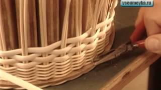 Как сделать поделки из лозы