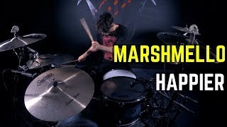 Marshmello Ft. Bastille   Happier | Matt McGuire Drum Cover