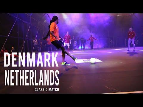 Denmark vs Netherlands   Classic Street Football Match