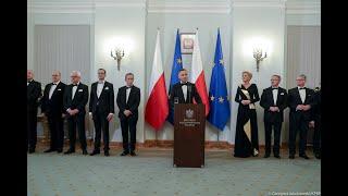 Wystąpienie Prezydenta RP podczas noworocznego spotkania z Korpusem Dyplomatycznym