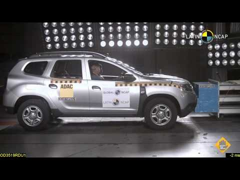 Nueva Renault Duster crash test Latin NCAP