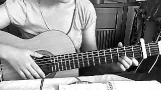 Plain white T's, write you a song, tutorial, guitar, gitarre, how to play