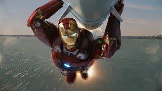 Железный Человек спасает Мир | Мстители | 4K ULTRA HD