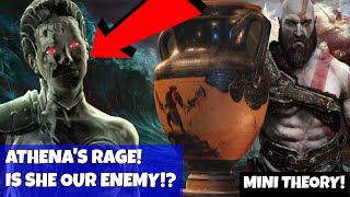 God of War 4 (old theory)- ATHENA'S RAGE! Mini Theory! Athena started EVERYTHING!