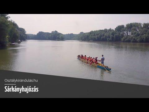 Sárkányhajózás Szegeden