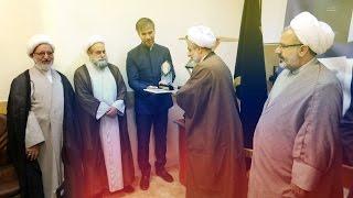 Чествование переводчика Корана Назима Зейналова в университете «Аль-Мустафа» (Кум, Иран)