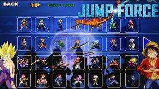 New Jump Force Mugen Style Apk Android Download With 44 Characters !!!!!!