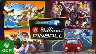 Williams Pinball Volume 1 Launch Trailer - A New Pinball FX3 Era Begins!