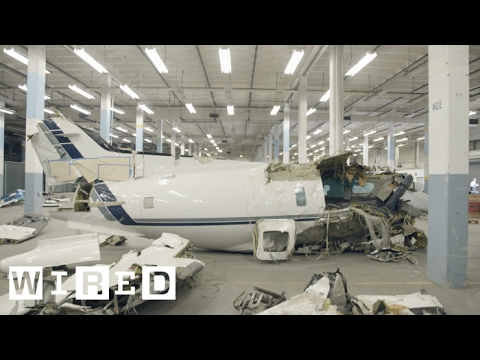 Inside the Plane Graveyard Training Future Air Crash Investigators | WIRED