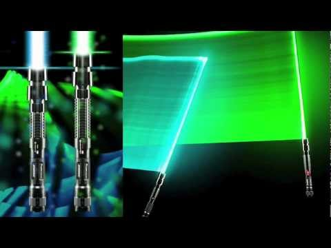 These Guys Made A Real Lightsabre!