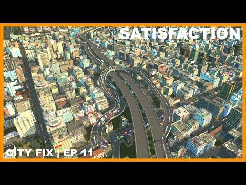 Managing Annoying Highway Traffic | CITY FIX | Cities Skylines
