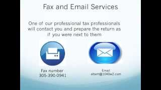 Best Income Tax Refund with no IRS Letter Fax and email service 305-823-9228