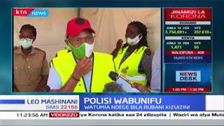 Polisi wa tumia ndege bila rubani (drone), kuwanasa wanaotumia njia za mkato kupita vizuizi