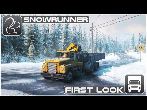 Gameplay de SnowRunner A MudRunner Game