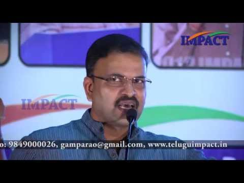 Transformation|JD Lakshmi Narayana|TELUGU IMPACT Vizag 2015
