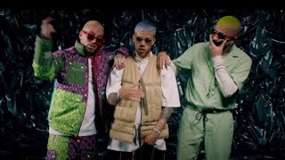Jhay Cortez Ft. Bad Bunny & J Balvin   No Me Conoce Remix (Official Audio)