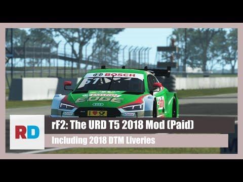 rFactor 2 DTM 2018 - VR Race at Laser Scanned Spa - URD's T5