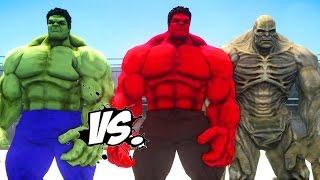 HULK VS RED HULK & ABOMINATION - EPIC SUPERHEROES BATTLE | DEATH FIGHT