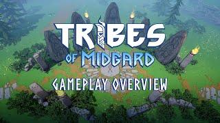 Представлен новый геймплейный трейлер кооперативного сурвайвала Tribes of Midgard