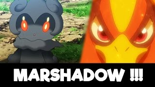Marshadow  - (Pokémon) - MARSHADOW CONFIRMED !! | POKÉMON FILM 20 TRAILER
