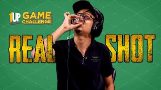 Real Shot Challenge with 8Bit Thug | 1Up Game Challenge | PUBG Mobile
