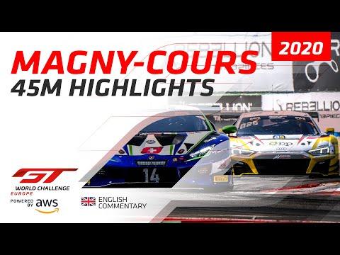 2020年 ブランパンGTアジア マニクール・サーキット GTWC レースハイライト動画