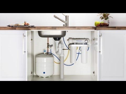 Как выбрать систему фильтрации воды под мойку. Назначение и виды