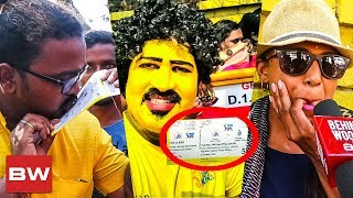 CSK Fans Go Wild after getting CSK Match Tickets | Dhoni | IPL 2018