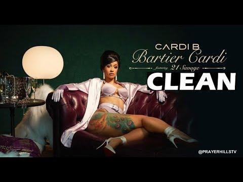 Cardi B - Bartier Cardi (Clean) Ft. 21 Savage