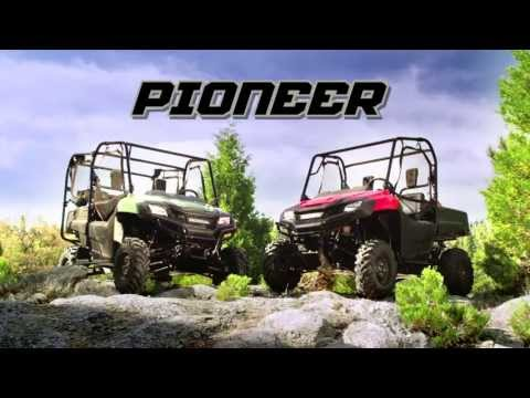 2020 Honda Pioneer 700-4 Deluxe in Augusta, Maine - Video 1