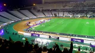 BEŞİKTAŞ-BursaSpor 90+3 Demba Ba penaltı anı (Tribün çekimi) D7