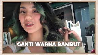 CHANGING MY HAIR COLOR (Vlog)   Ersya Aurelia