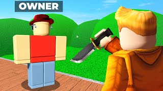 Murder Mystery 2 but I KILL THE OWNER..