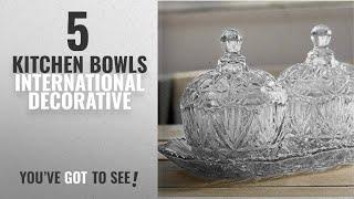 Top 10 Kitchen Bowls International Decorative [2018]: King International Decorative Designer