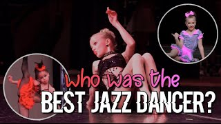 Who Was The Best Jazz Dancer Based On Win Rates? | Dance Moms