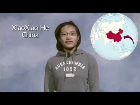 International Student: XiaoXiao He (China)