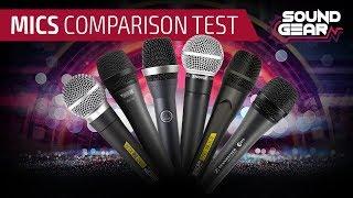 Prueba De Comparación De Micrófonos (Shure, AKG, Sennheiser, SKP Pro Audio, Novik Neo)