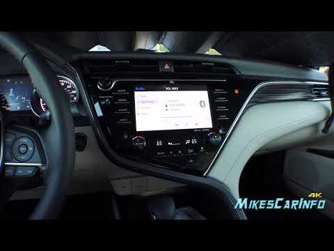 2018 Toyota Camry JBL Sound System Test